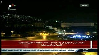 Syrische Medien: Weitere israelische Raketen abgefangen
