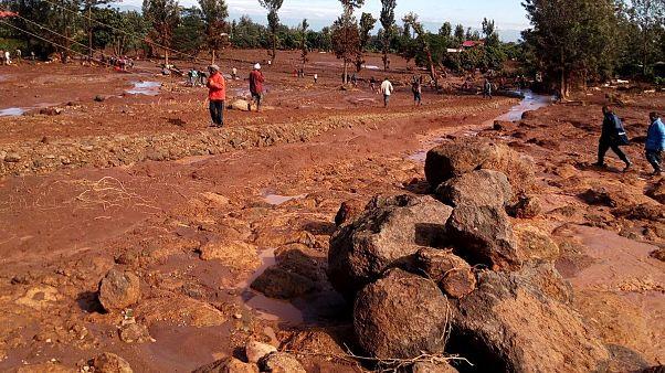Dozens killed after dam burst in Kenya's Nakuru County: Rescue service