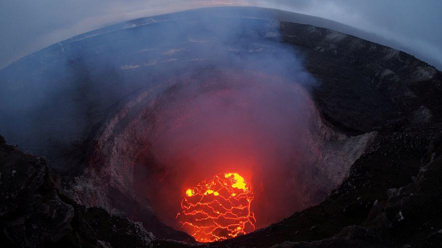 Im Kilauea existiert ein rießiger Lavasee