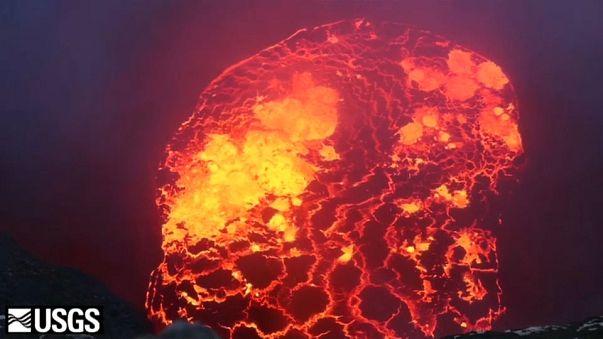 Le Kilauea toujours en éruption à Hawaï