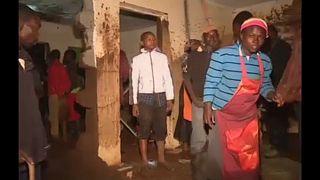 Átszakadt egy gát Kenyában