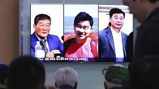 Kim Dzsong Un gesztusa a három amerikai szabadulása