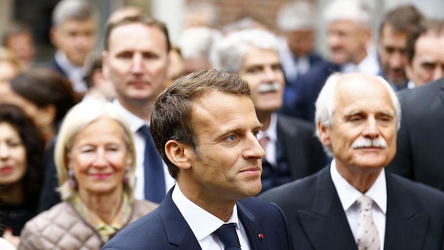 Jetzt live in Aachen: Emmanuel Macron erhält Karlspreis