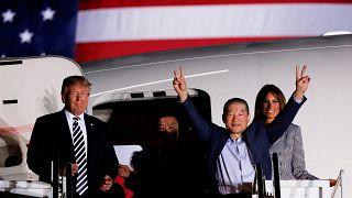 США вернули своих граждан из лагеря КНДР