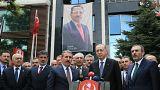Erdoğan BBP'yi ziyaret etti: Ortak miting gündemde yok