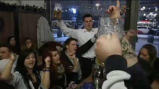 Csökkenő európai alkoholfogyasztás