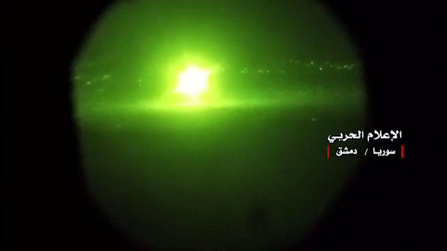 Szíriában lövi egymást Irán és Izrael