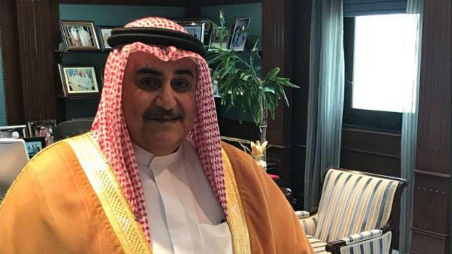 وزير الخارجية البحريني خالد بن احمد آل الخليفة