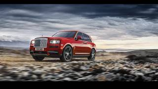 Rolls-Royce reveals new luxury SUV
