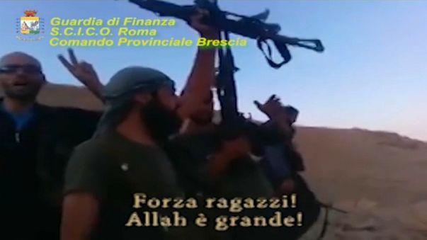 Desmantelan dos células terroristas en Italia