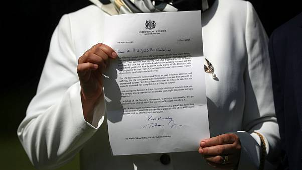 نامه عذرخواهی نخست وزیر بریتانیا به خانم بوچار