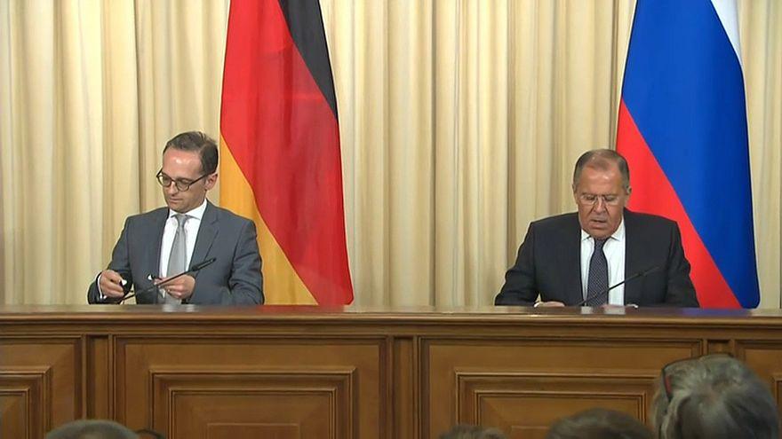 Maas zu Gesprächen mit Lawrow in Moskau