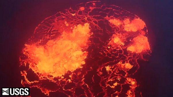 Hawái espera una gran explosión del volcán Kilauea