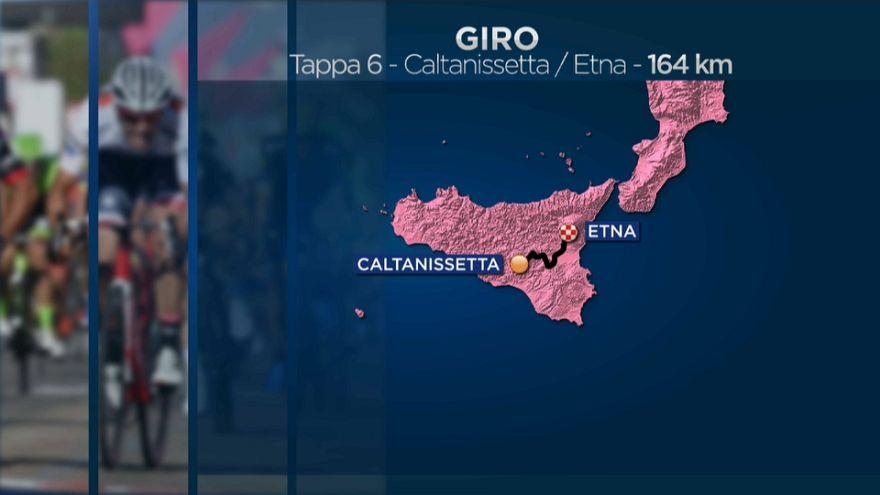 Giro d'Italia: Chaves primo sull'Etna, Yates strappa la rosa a Dennis