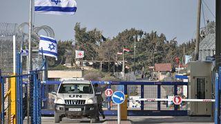 Border crossingpoint Golan highs