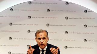 Banco de Inglaterra mantém taxa de juro e baixa estimativa de crescimento