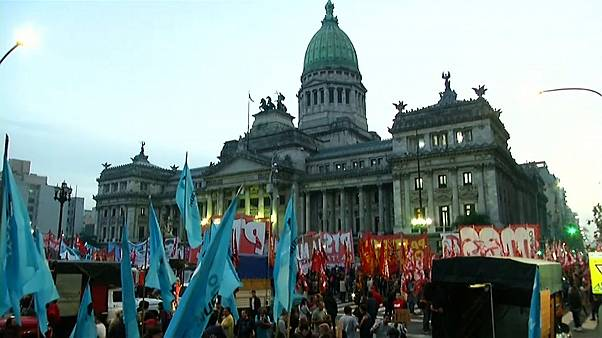 Argentina's peso protests