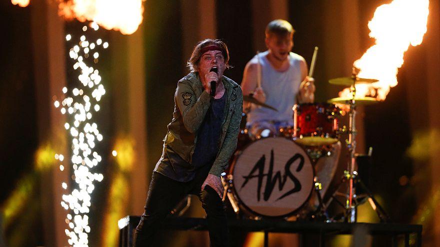Bejutott a döntőbe a magyar AWS az Eurovíziós Dalfesztiválon