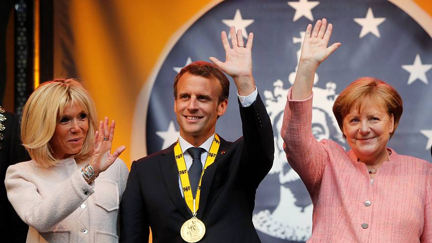 Macron quer Alemanha ousada na sua ambição europeia