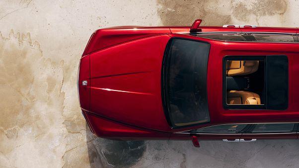 Luxus pur: So sieht der Callinan von oben aus