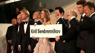 Cannes Film Festivali'nde protesto
