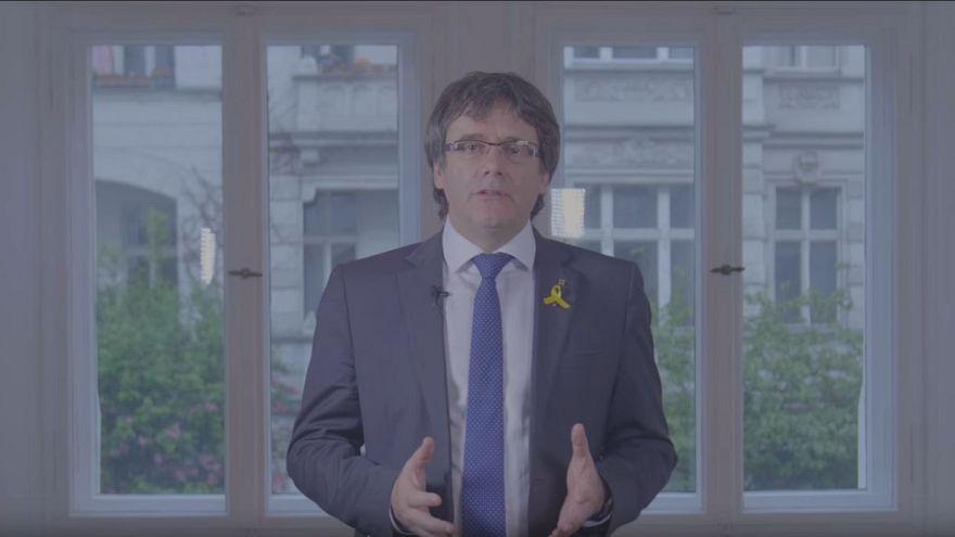 Carles Puigdemont designa a Quim Torra como candidato a presidir la Generalitat