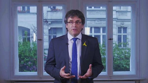 Ex-Catalan leader Puigdemont proposes candidate to head regional government