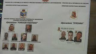 14 Terrorhelfer festgenommen