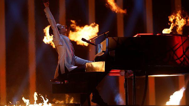 Eurovisão: 2ª semifinal em fotografias