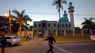 شاهد: لحظة الهجوم المسلح على مسجد في جنوب إفريقيا