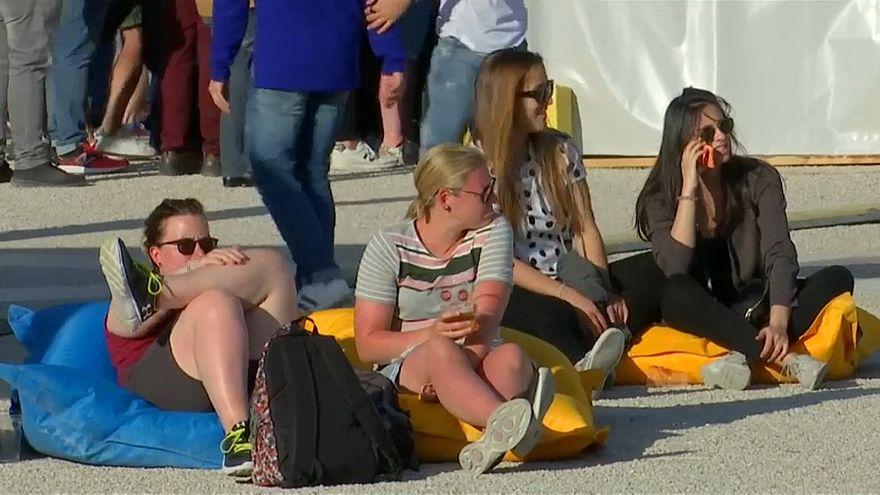 Eurovision'da en çok onlar eğleniyor