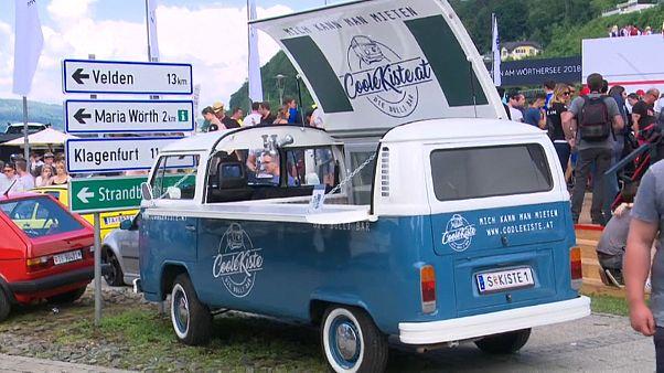 VW-Liebhaber beim Wörtherseetreffen