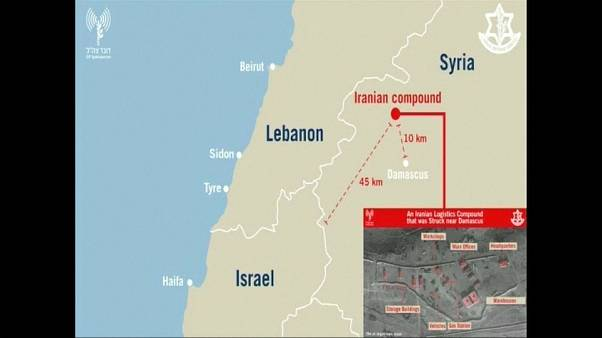 ارتش اسرائیل تصاویر پایگاههای ایرانی هدف قرار گرفته در سوریه را منتشر کرد