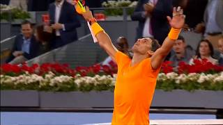 Madrid : Nadal file en quarts et bat le record de McEnroe