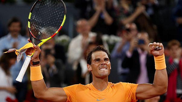 Rafael Nadal bate recorde com 34 anos em Madrid