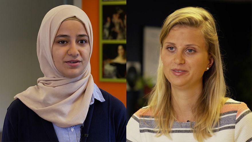 En Utrecht, residentes locales y refugiados comparten perspectivas profesionales