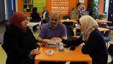 Hollandalılar mültecilerle kaynaşıyor