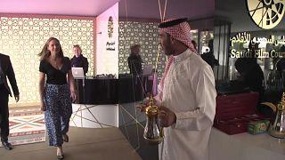Filistin ve S. Arabistan için Cannes'da bir ilk