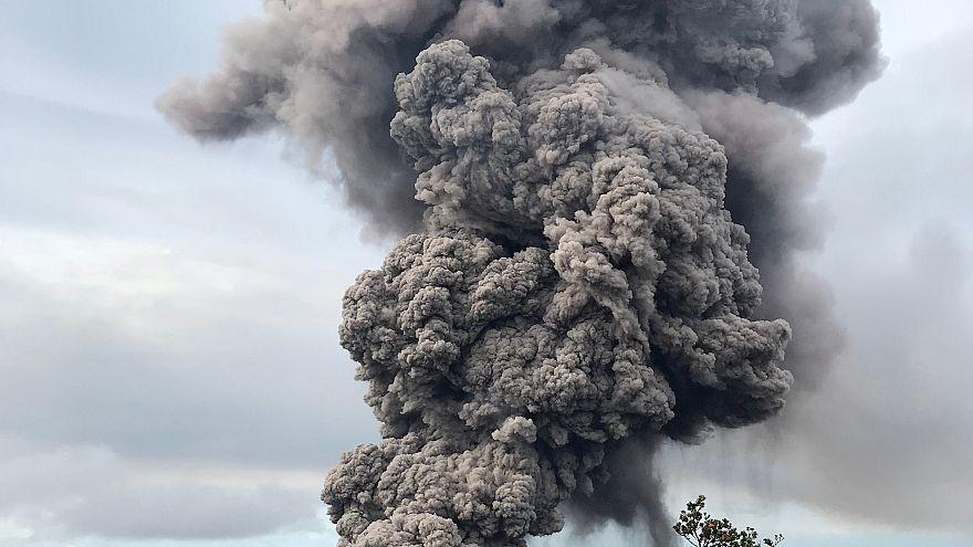 Ameaça de erupção explosiva do vulcão Kilauea