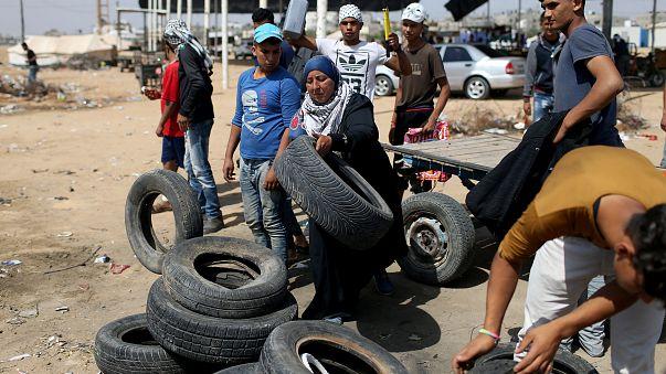 Les Palestiniens à nouveau mobilisés