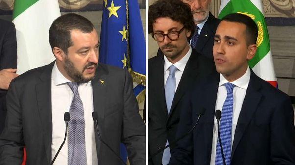 İtalya'nın iki popülist partisi hükümet kurmaya çok yaklaştı