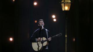 """Ryan O'Shaughnessy singt für Irland """"Together"""" beim ersten ESC-Halbfinale"""