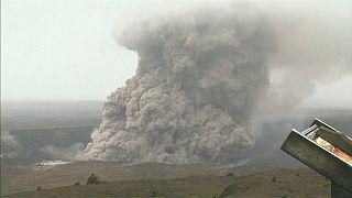 Toxic gas warning in Hawaii