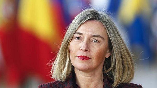 مسؤولة السياسة الخارجية بالاتحاد الأوروبي فيديريكا موغيريني