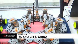 Les robots au sommet en Chine