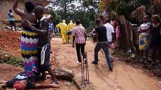 مرگ یک بیمار مبتلا به ویروس ابولا