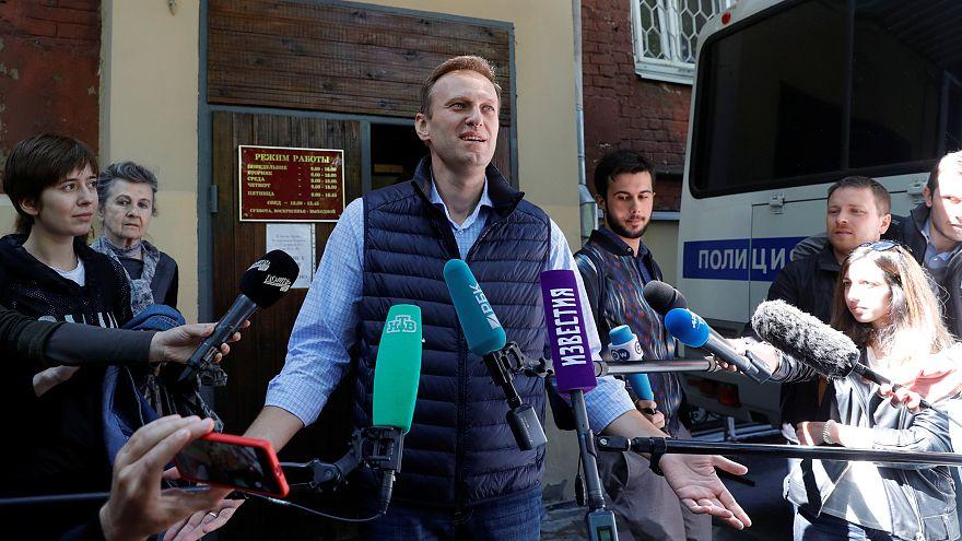 Le jugement contre l'opposant russe Navalny reporté à mardi 15 mai