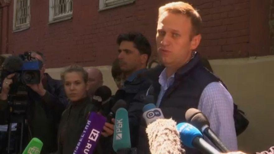 Navalnij: színjáték az orosz bíróság