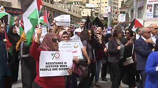 Nuevas protestas en la Franja de Gaza