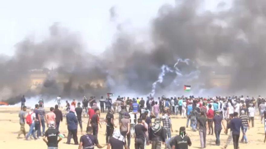Hetedik péntek a gázai falnál